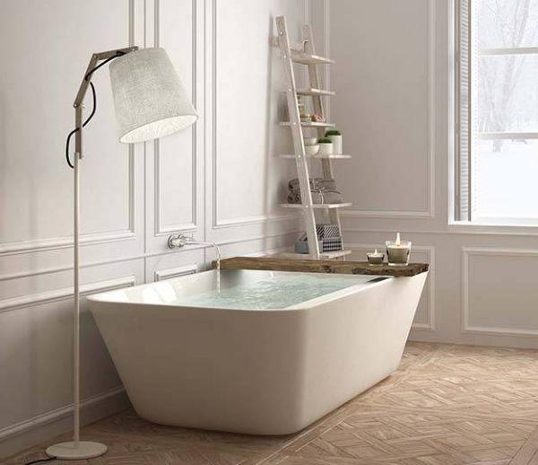 Le parquet dans la salle de bains, c'est possible !