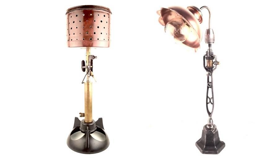 upcycling des luminaires designs partir de vieux outils le camion ben. Black Bedroom Furniture Sets. Home Design Ideas