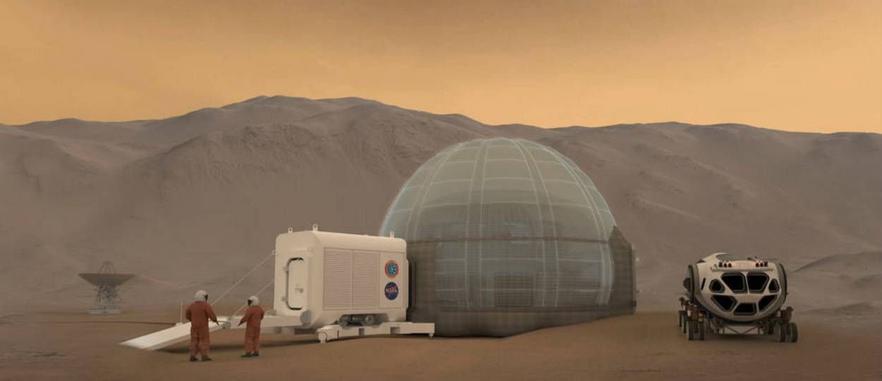 Voilà à quoi ressemblera la première maison sur Mars