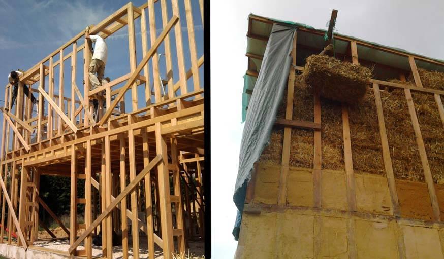 Autoconstruction construire une maison en paille for Autoconstruction maison en paille