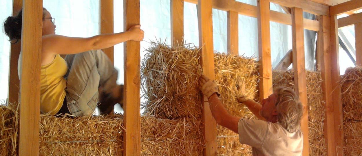 autoconstruction construire une maison en paille ossature bois 18h39fr - Maison Paille Ossature Bois