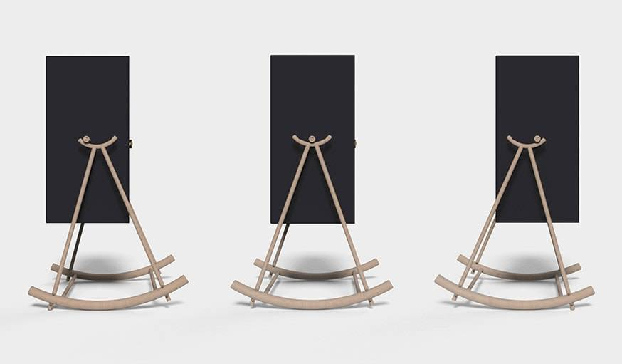 rocking chair lit bascule lampe design les meubles se balancent. Black Bedroom Furniture Sets. Home Design Ideas