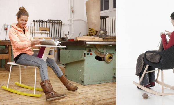 Fauteuil, lit, lampe... quand les meubles se balancent