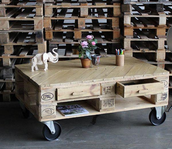 DIY : Fabriquez une table basse en palettes