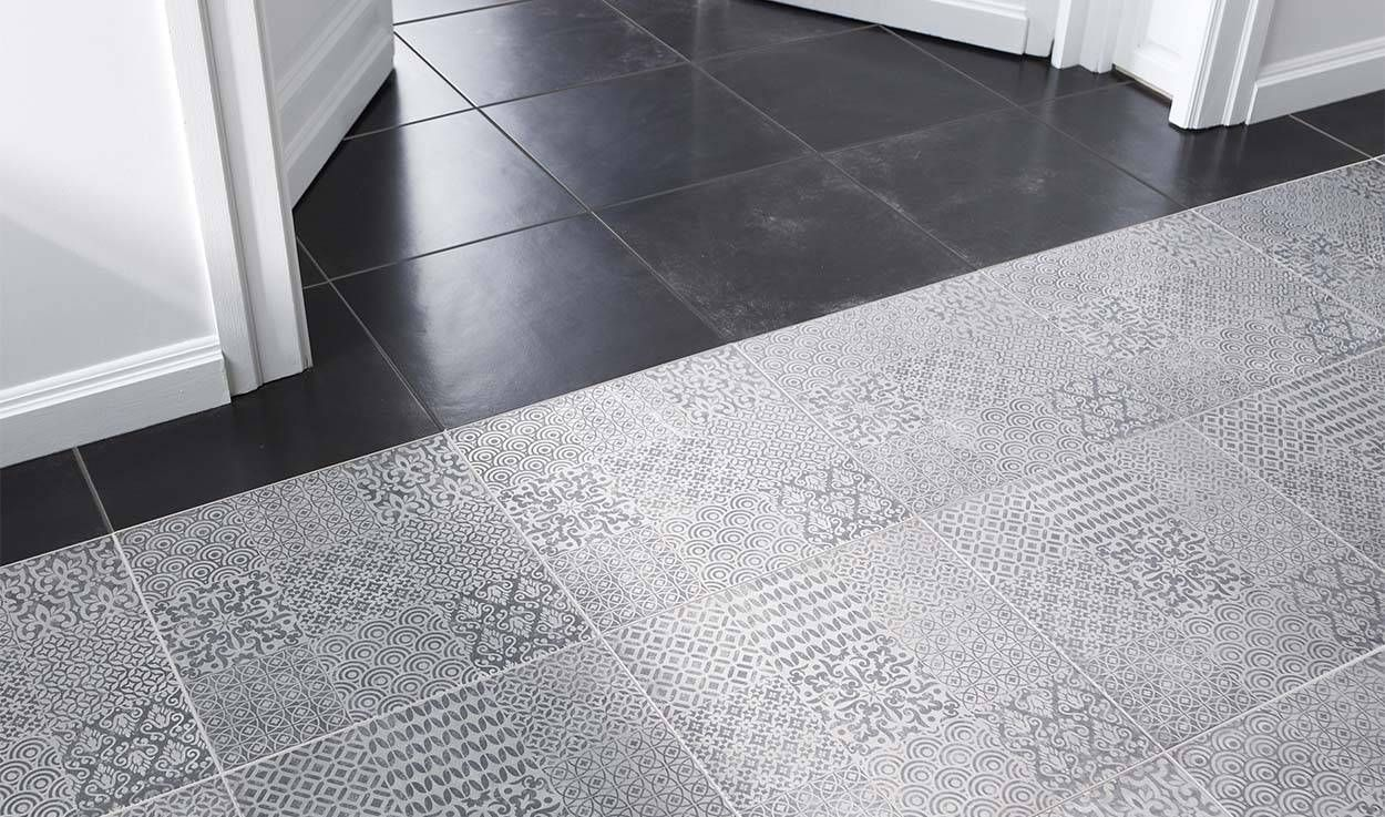 Imitation carreaux de ciment misez sur le carrelage la for Carrelage carreaux de ciment castorama