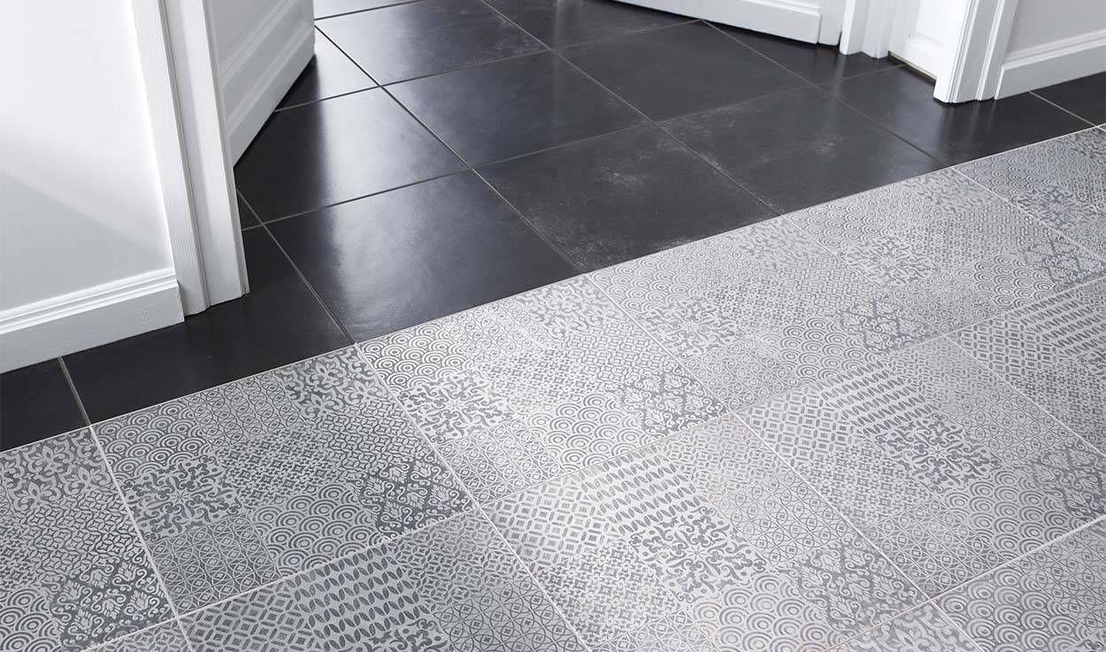 imitation carreaux de ciment misez sur le carrelage la mosa que le vinyle. Black Bedroom Furniture Sets. Home Design Ideas