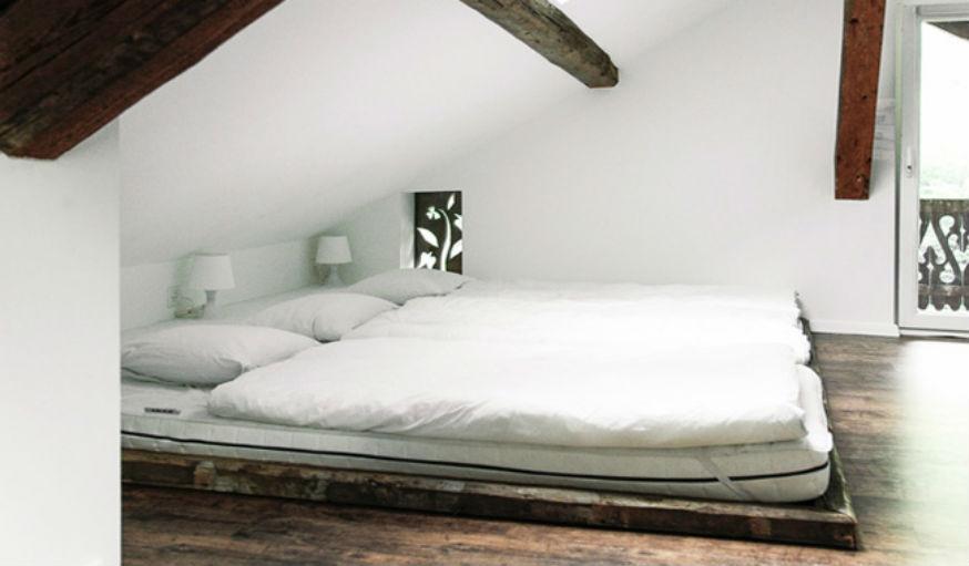 Une jolie chambre sous les combles