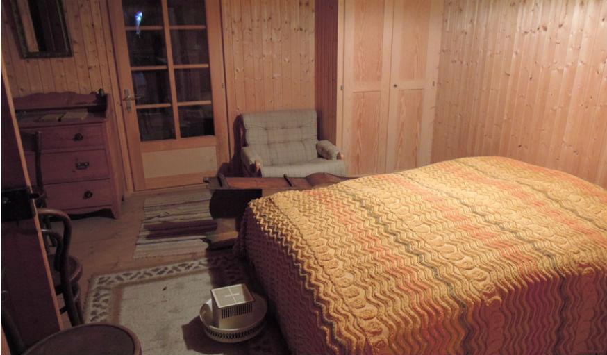 Une des anciennes chambres