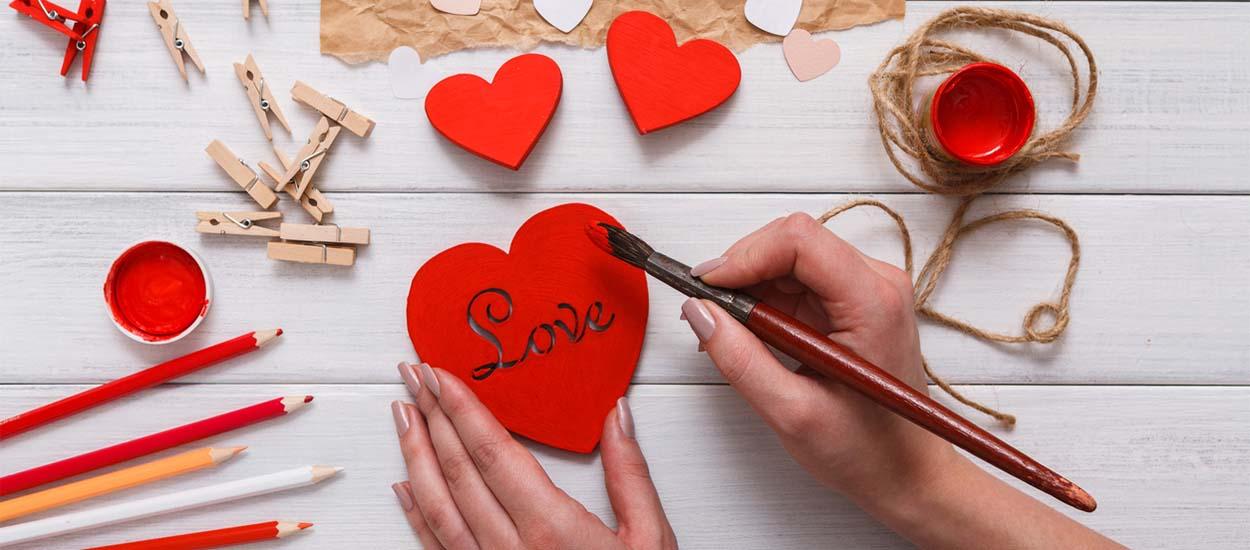 Id es cadeaux pour la saint valentin 11 diy pour la for Decoration maison st valentin