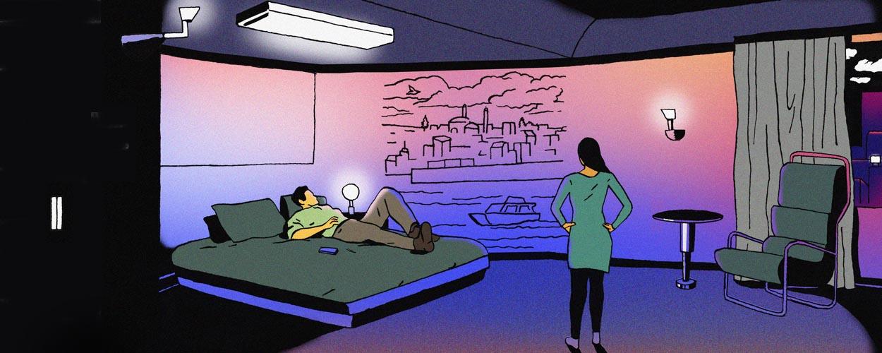 Futur : Et si nos murs changeaient de couleur au fil de la journée ?