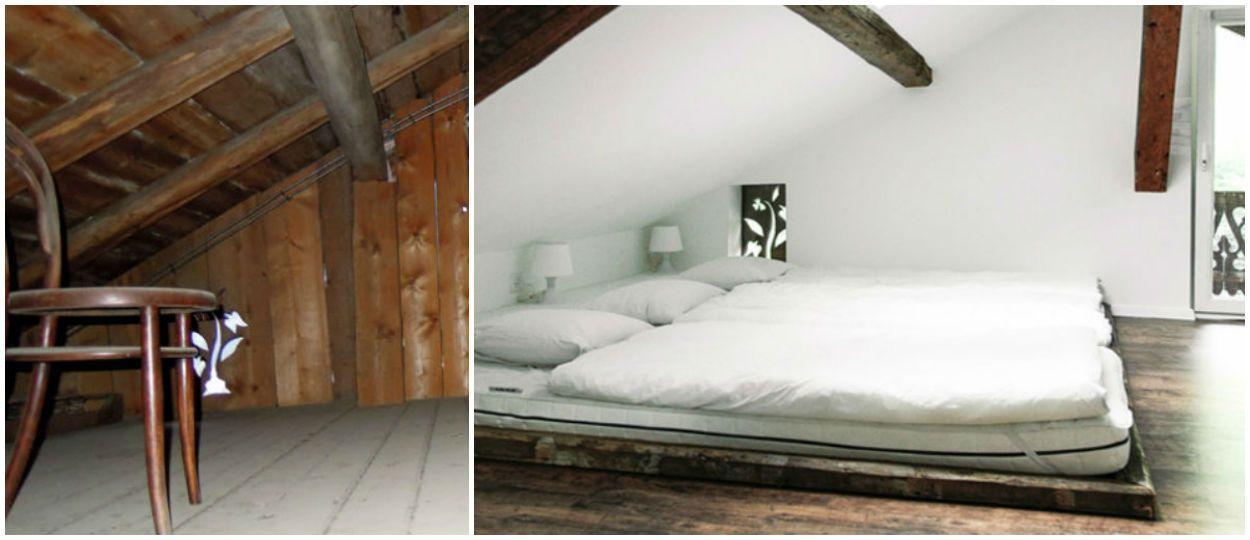 Un vieux chalet suisse transformé en magnifique demeure moderne