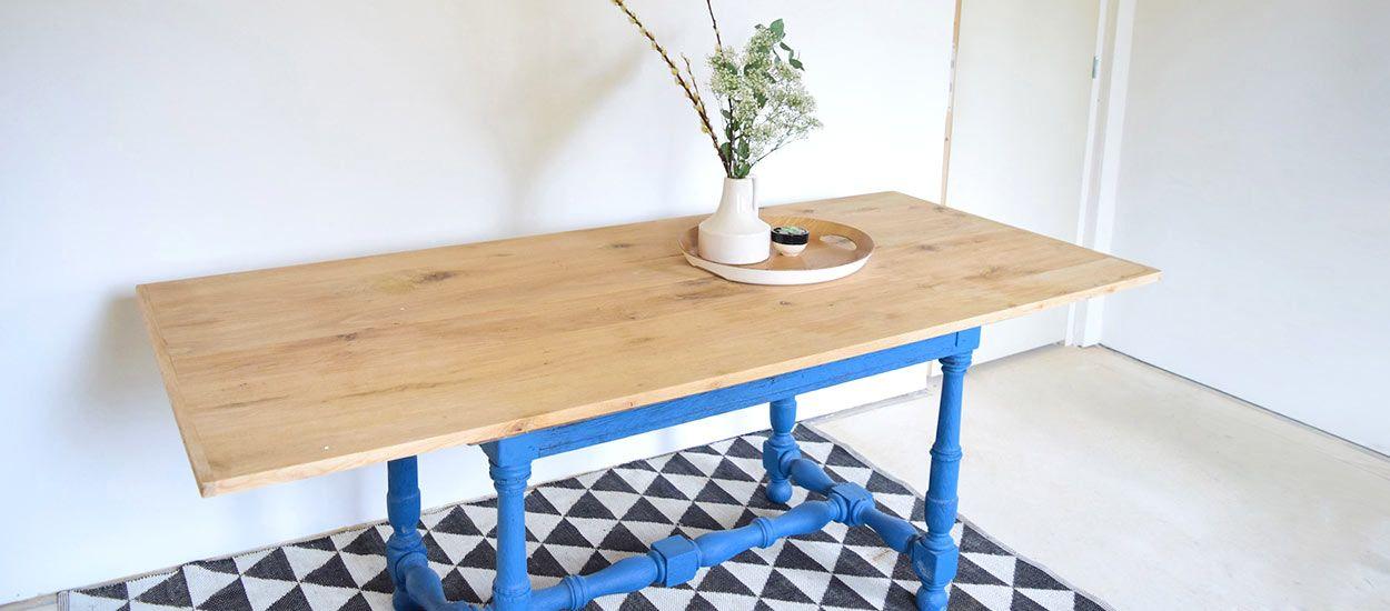DIY relooking : Donnez une seconde jeunesse à une table rustique