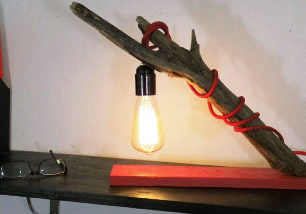 Diy Fabriquer Une Lampe Suspendue En Bois Flotté Lampe
