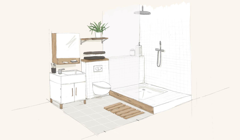 Créer Une Salle D Eau rénover une salle de bain et la déplacer - où installer la