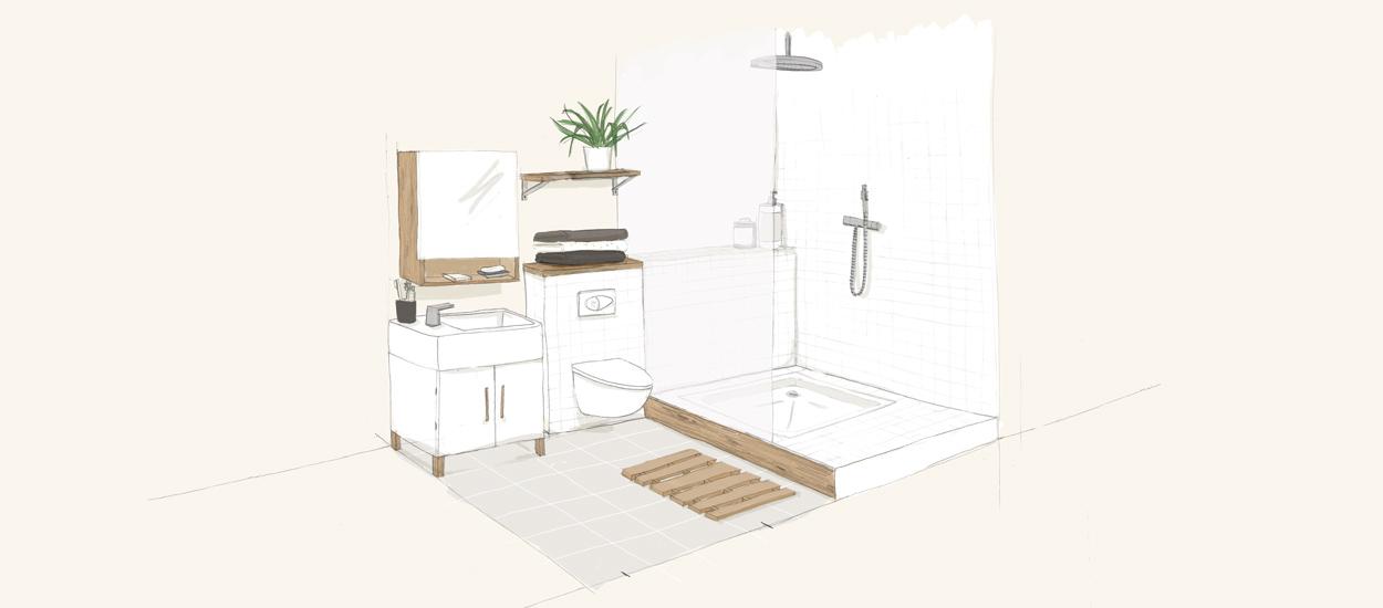 r nover une salle de bain et la d placer o installer la salle de bain. Black Bedroom Furniture Sets. Home Design Ideas