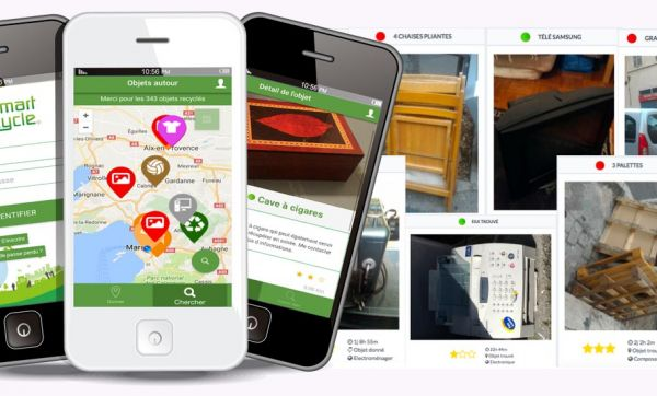 Smartcycle, l'appli écolo pour dénicher des objets gratuits