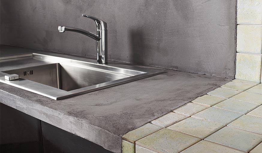 Beton Decoratif L Enduit Beton Mineral Resinence De Castorama Sol Murs
