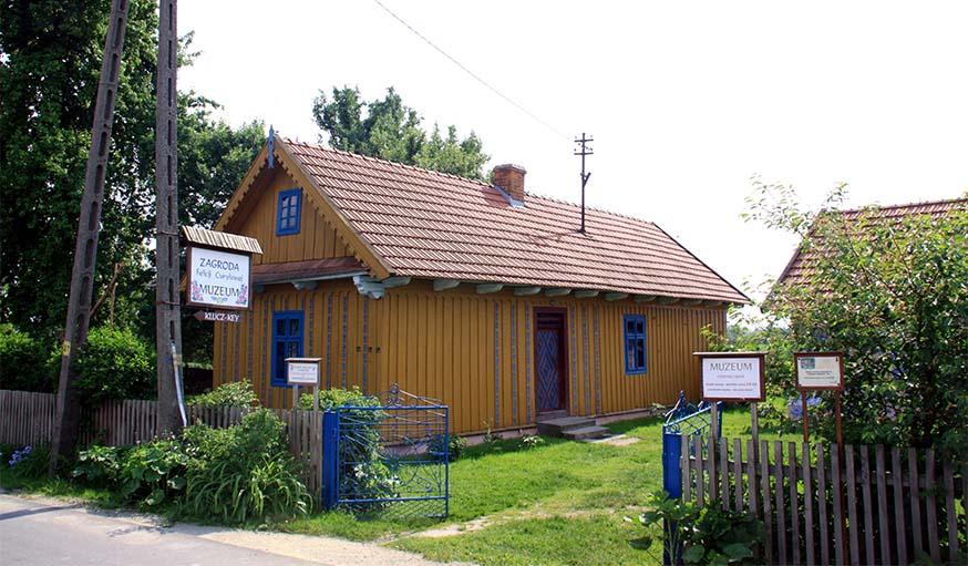 La ferme de Felicja Cury?owa transformée en musée.
