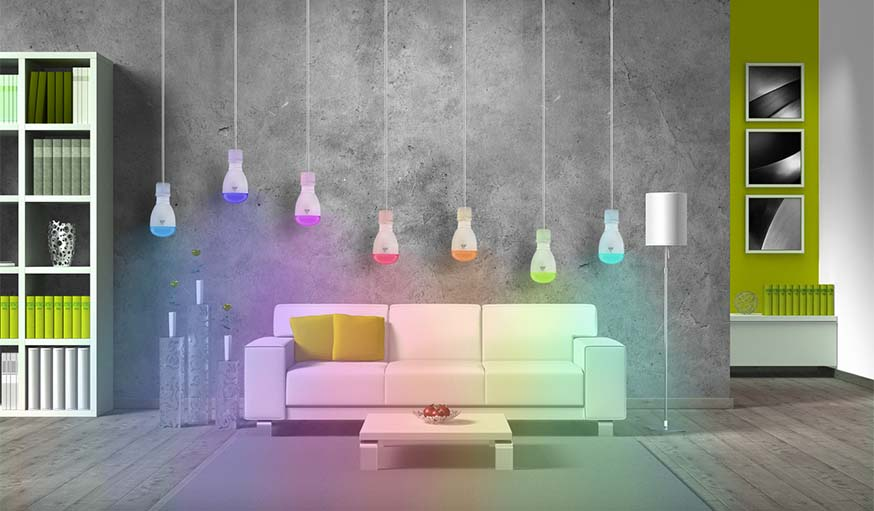 L'ampoule LED connectée SmartLIGHT.