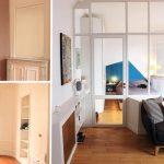 L'appartement avant et après rénovation.