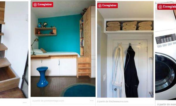 Petits espaces : 22 aménagements incroyables pour gagner de la place