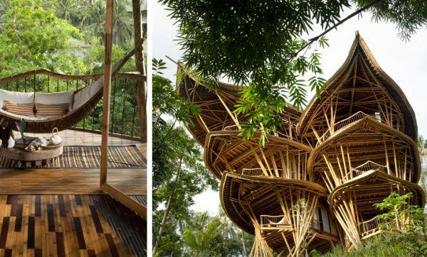 Admirez ces incroyables maisons en bambou, majestueuses et durables