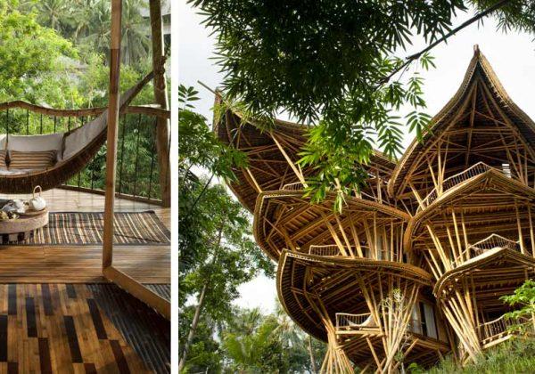 Ibuku construit des maisons durables en bambou ...