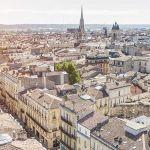Bordeaux vu du ciel.