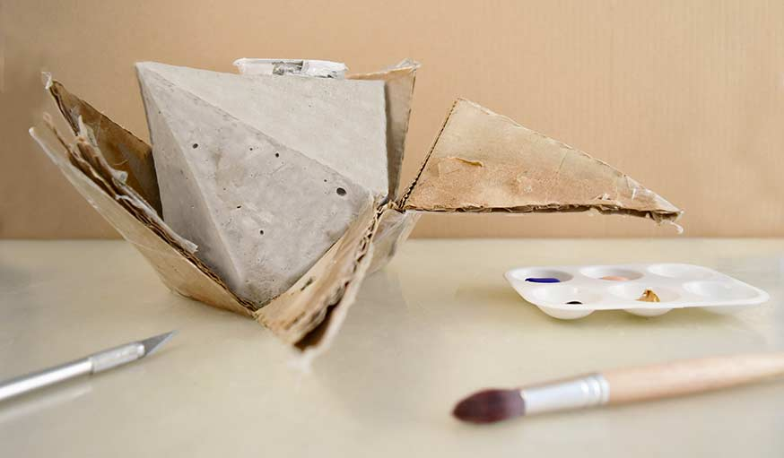 Diy Conseils Pour Fabriquer Un Cache Pot En Ciment Cache Pot