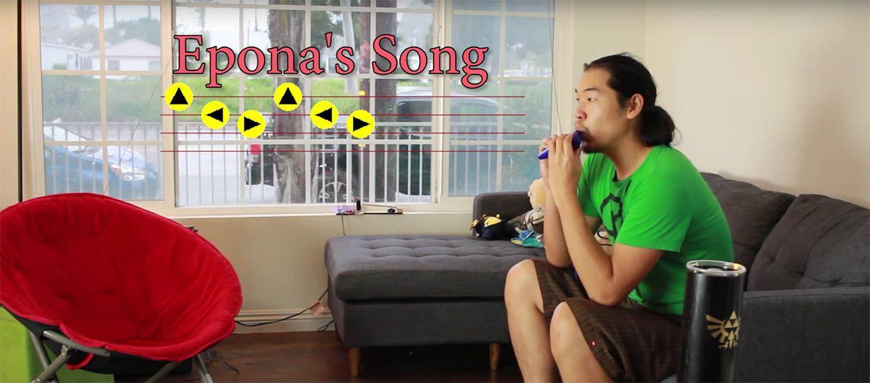 Il contrôle sa maison en jouant la musique de la Légende de Zelda