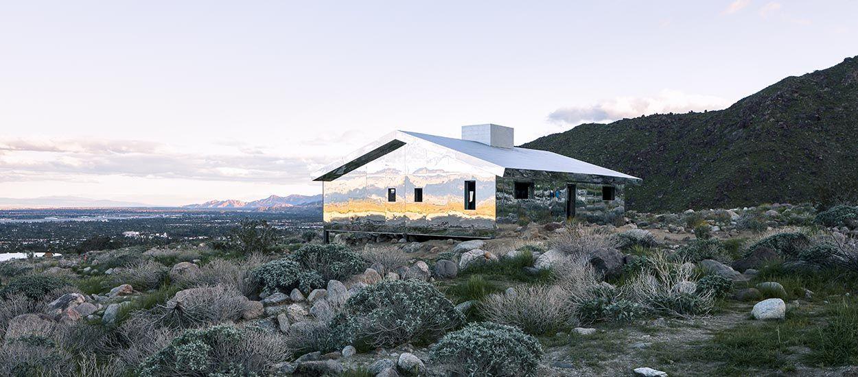 La Maison Du Miroir architecture insolite en californie - une maison en miroirs dans le