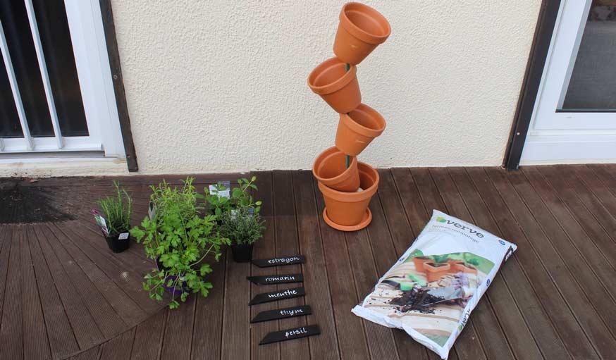 Tuto Pour Fabriquer Une Jardinière Verticale - Potager De Plantes