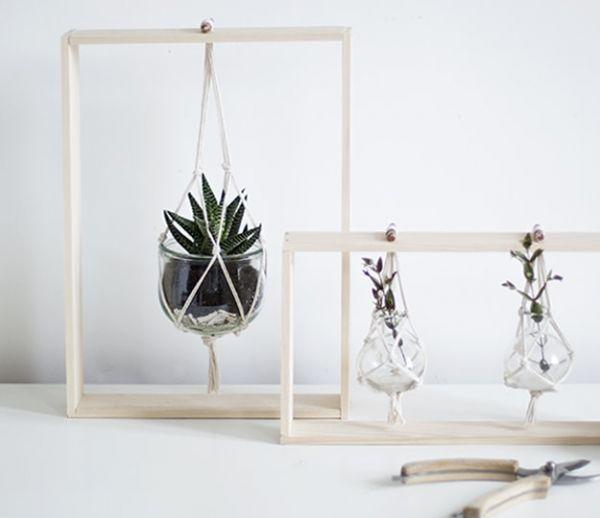 Tuto : Fabriquez des cadres végétaux délicats et poétiques