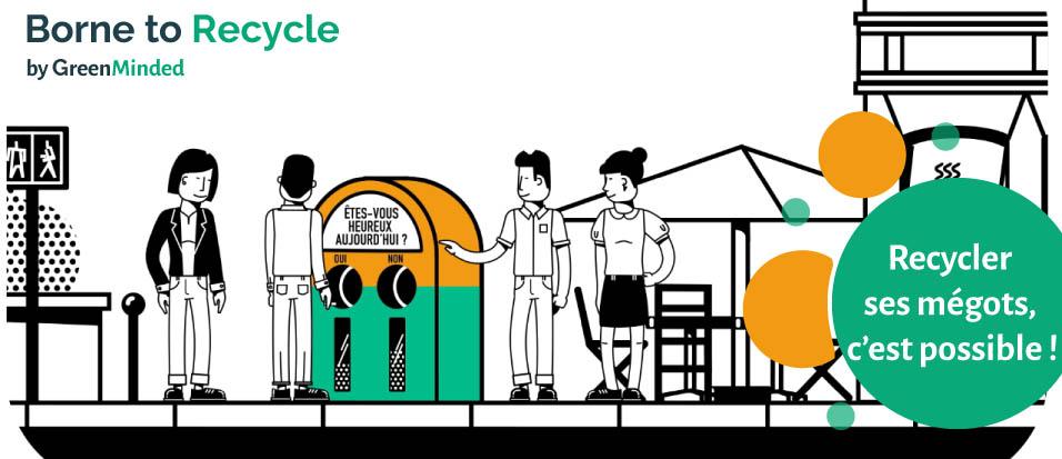une id e brillante pour collecter et recycler les m gots de cigarettes en ville. Black Bedroom Furniture Sets. Home Design Ideas