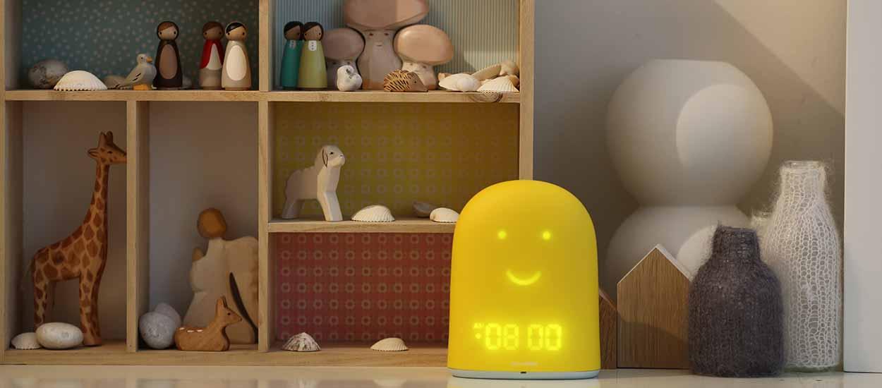un r veil connect pour que les enfants dorment bien. Black Bedroom Furniture Sets. Home Design Ideas