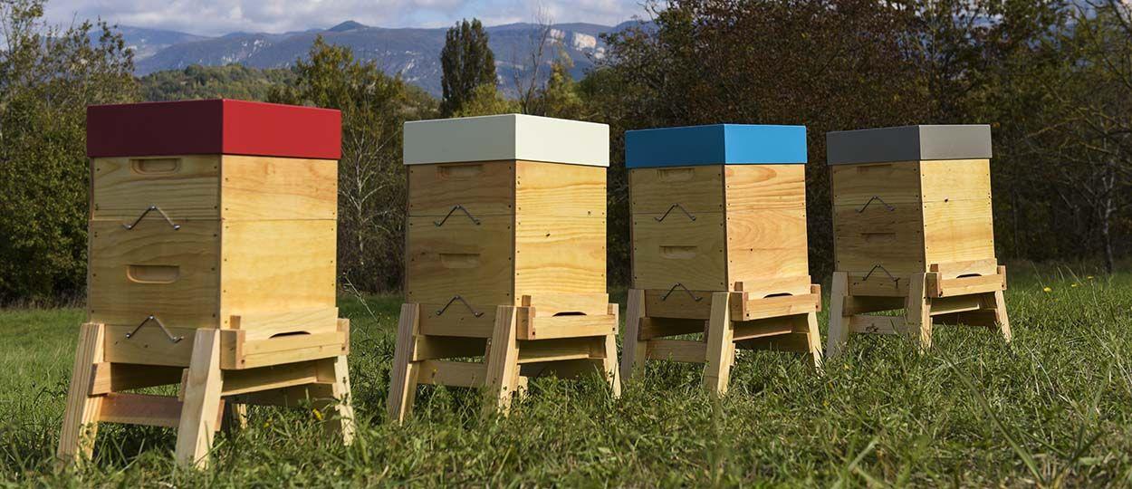 Des ruches de jardin 100 % made in France