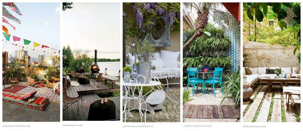 Id es am nagement terrasse 5 inspirations de d coration ext rieure - Pinterest terrasse ...