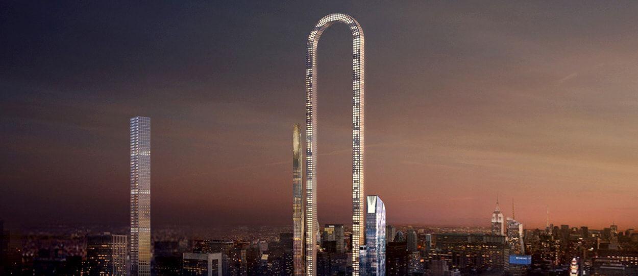 Le gratte-ciel du futur se replie sur lui-même