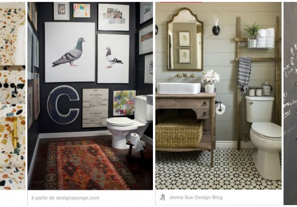 Charmant Inspiration Déco : 32 Idées Pour Décorer Vos Toilettes Avec Goût