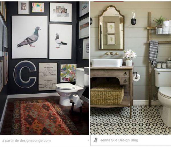 Inspiration déco : 32 idées pour décorer vos toilettes avec goût