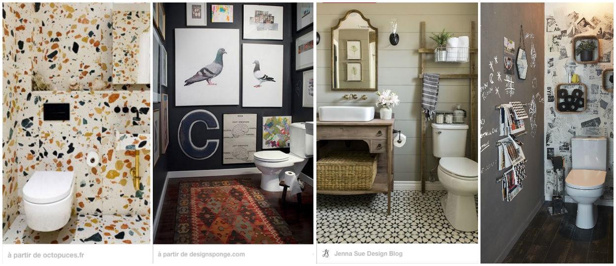 toilettes 32 id es pour les d corer d coration int rieure. Black Bedroom Furniture Sets. Home Design Ideas