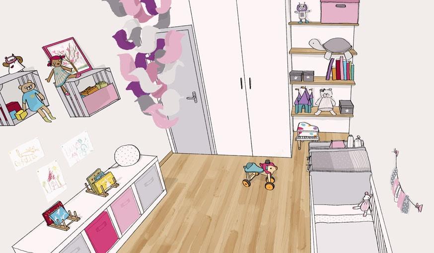 comment ranger une chambre d enfant conseils d une coach en rangement. Black Bedroom Furniture Sets. Home Design Ideas