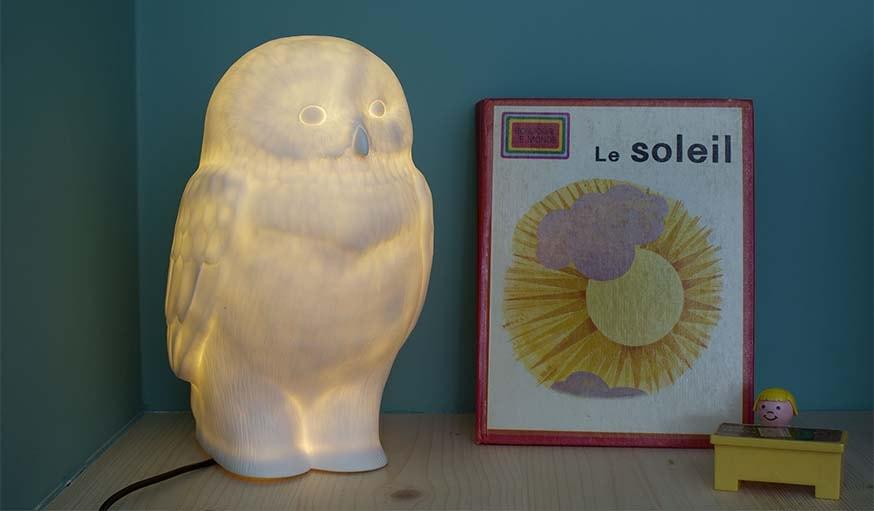 Akira the Owl Lamp