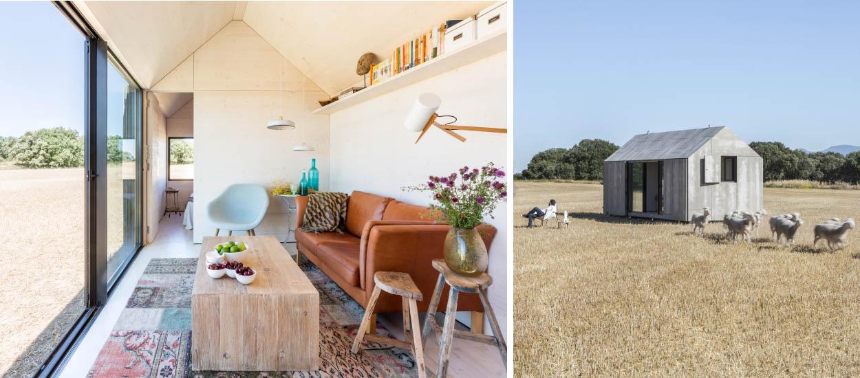 Une tiny house colo et design par baton vivre dans une for Minimaliste mini maison