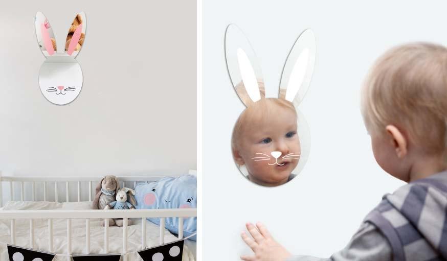 Miroir lapin