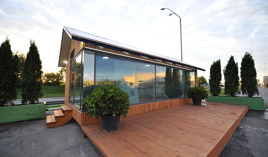 passivdom d veloppe une mini maison autonome en lectricit et en eau. Black Bedroom Furniture Sets. Home Design Ideas