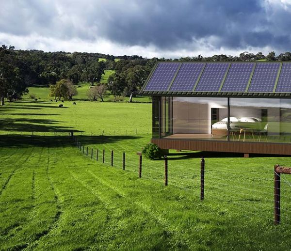 Cette tiny house autonome en énergie s'installe n'importe où