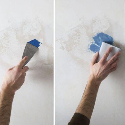 Une peinture 3 en 1 pour reboucher les trous, recouvrir et embellir les murs