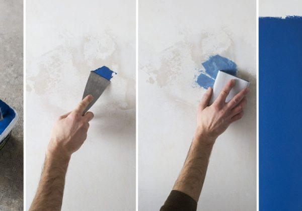 Une Peinture Sans Sous Couche Qui Sert Aussi D Enduit De
