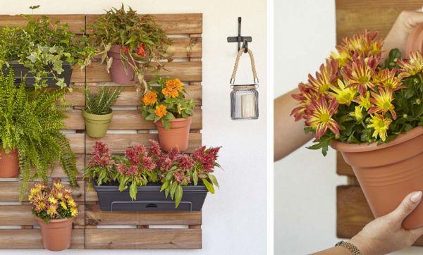 Tuto : Fabriquez un panneau fleuri et créez-vous un jardinet vertical